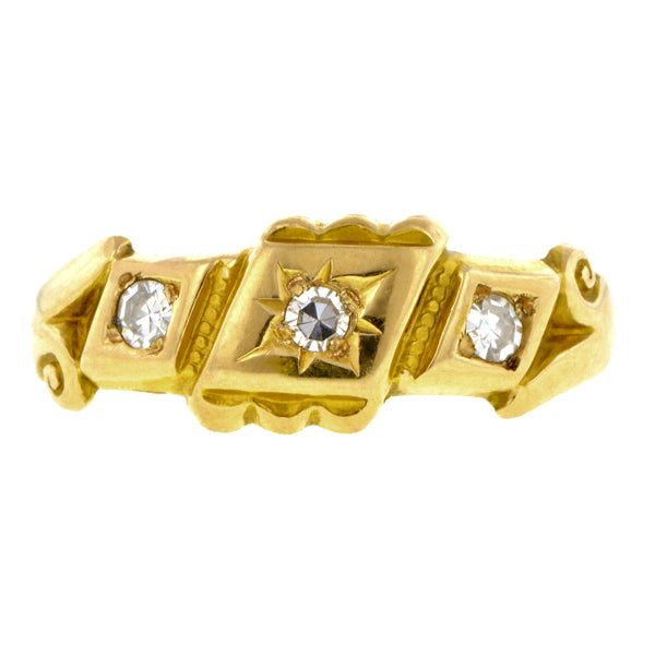 Victorian Diamond Ring::Doyle & Doyle
