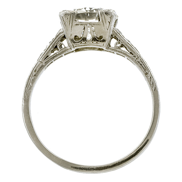 diamond edwardian jewellery engagement ring rings