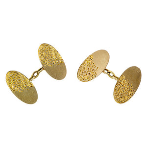 Antique Double Sided Cufflinks:: Doyle & Doyle