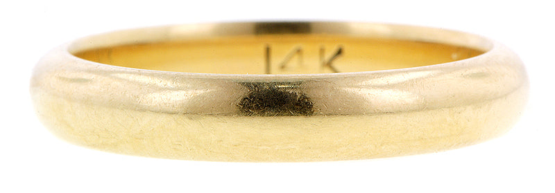 Half Round Wedding Band