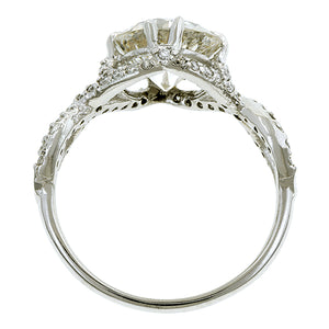 Entwined Engagement Ring, Old Euro 2.39ct- Heirloom by Doyle & Doyle