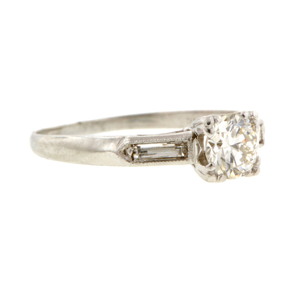 Vintage Engagement Ring, TRB 0.38ct