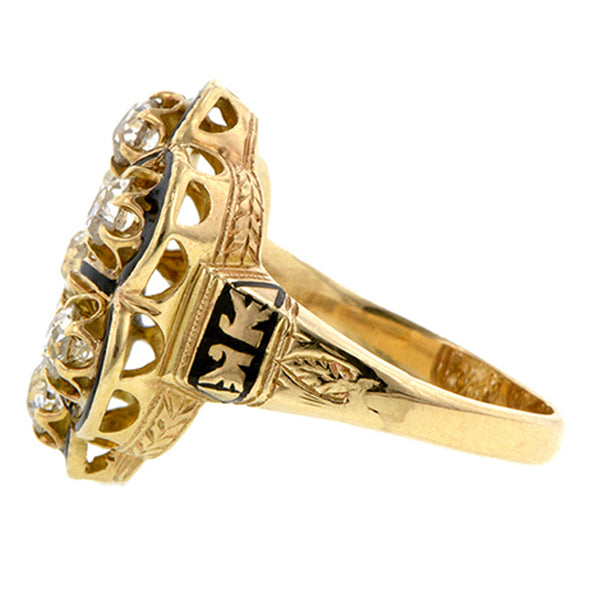 Victorian Diamond Ring:: Doyle & Doyle