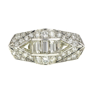 Vintage Diamond Ring::Doyle & Doyle