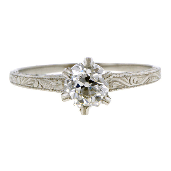 Edwardian Solitaire Engagement Ring Doyle & Doyle