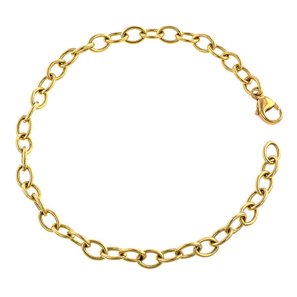 Oval Link Bracelet- Heirloom by Doyle and Doyle.