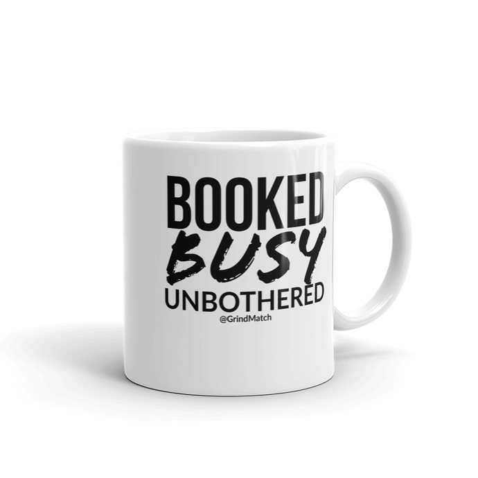 Booked & Busy - Coffee Mug