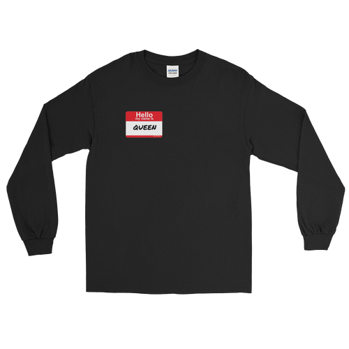 Hello My Name is... (Long-Sleeve Unisex)