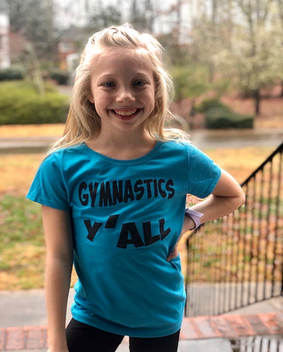 Gymnastics Y'all Girls T-Shirt