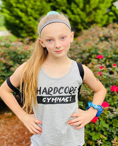 Hardcore Gymnast Girls Tank Top