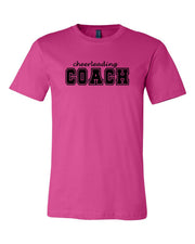 Berry Cheerleading Coach Adult T-Shirt