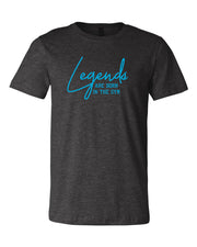 Legends Are Born In The Gym Adult T-Shirt