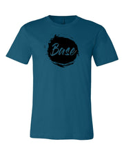 Deep Teal Base Adult Cheer T-Shirt
