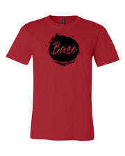 Red Base Adult Cheer T-Shirt