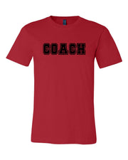 Red Coach Adult T-Shirt