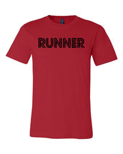 Red Runner Adult Runner T-Shirt