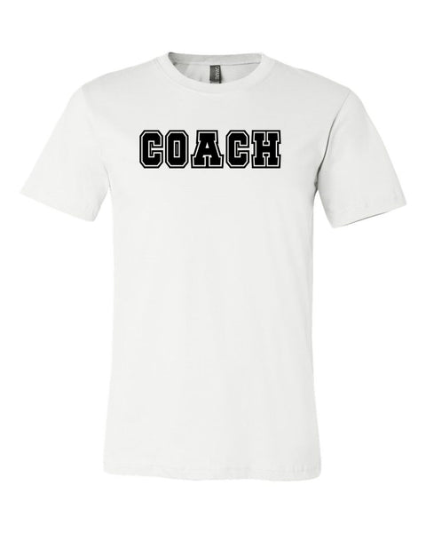 White Coach Adult T-Shirt