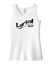 Lyrical Dancer Girls Tank Top