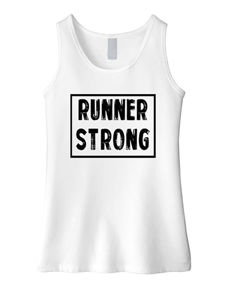 Runner Strong Girls Tank Top