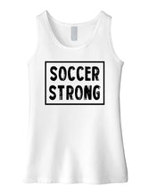 Soccer Strong Girls Tank Top