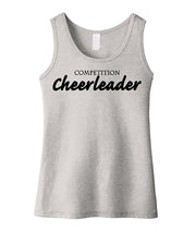 Competition Cheerleader Girls Tank Top