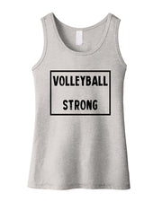 Volleyball Strong Girls Tank Top