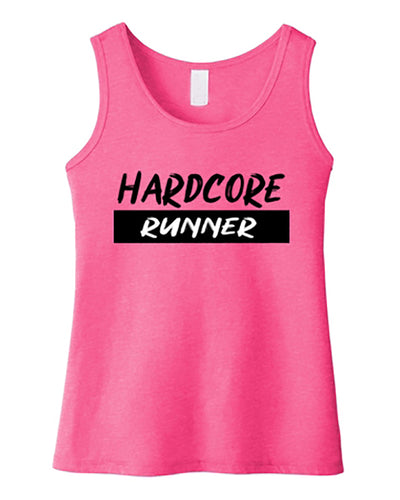 Hardcore Runner Girls Tank Top