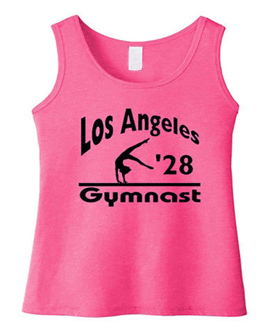 LA 2028 Gymnast Tees Tanks Crops Hoodies