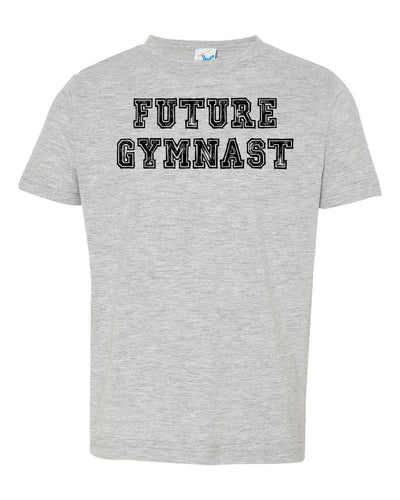 Heather Gray Future Gymnast Toddler Gymnastics T-Shirt