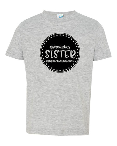 Gymnastics Sister Toddler T-Shirt