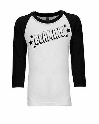 Beaming 3/4 Sleeve Raglan Youth T-Shirt