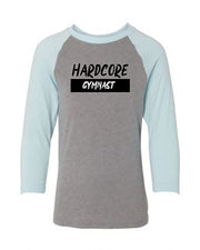 Hardcore Gymnast Youth 3/4 Sleeve Raglan T-Shirt