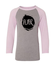 Flyer Youth 3/4 Sleeve Raglan T-Shirt
