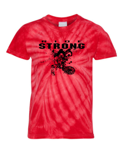 Ride Strong Youth Tie Dye T-Shirt