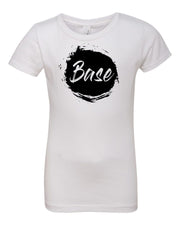 White Base Girls Cheer T-Shirt