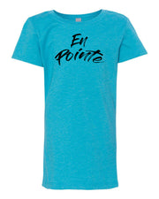 Ocean Blue En Pointe Girls Dance T-Shirt