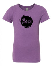 Purple Berry Base Girls Cheer T-Shirt