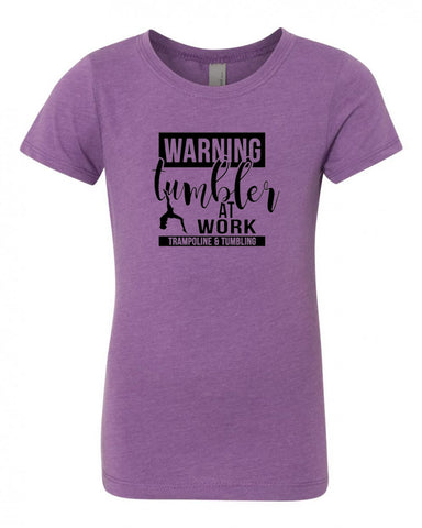 Tumbler At Work Trampoline & Tumbling Tees Tanks Crops Hoodies