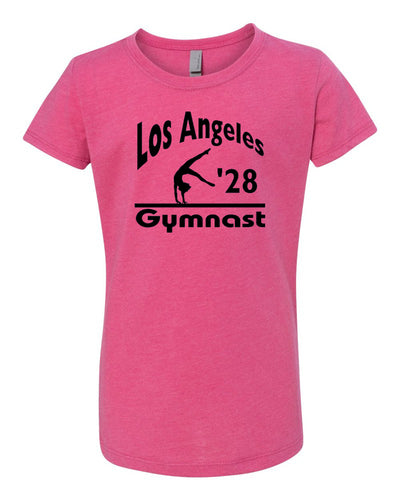 LA 2028 Gymnast Girls Gymnastics T-Shirt