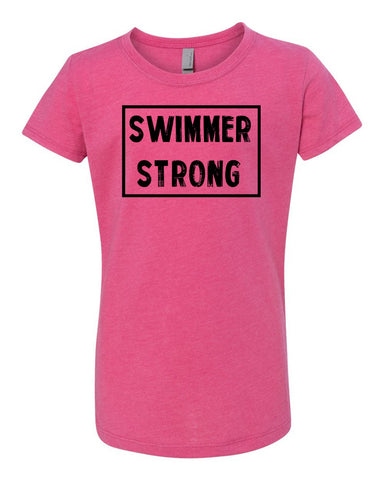 Swimmer Strong Tees Tanks Hoodies
