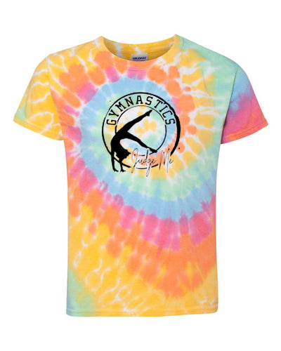 Gymnastics Judge Me Youth Tie Dye T-Shirt