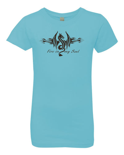 Fire In My Soul Girls T-Shirt