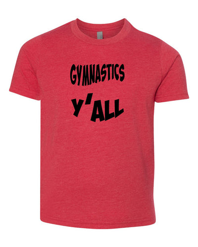Gymnastics Y'all Youth T-Shirt