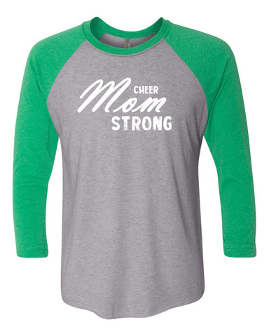 Cheer Mom Strong Tanks Tees & Hoodies