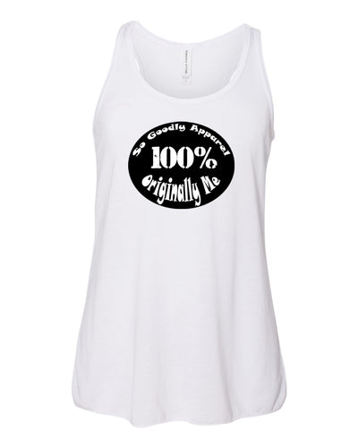Originally Me Girls Flowy Racerback Tank Top