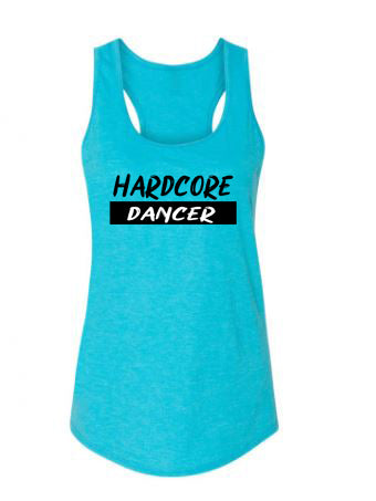 Hardcore Dancer Ladies Racerback Tank Top