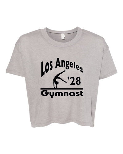 LA 2028 Gymnast Relaxed Gymnastics Crop Top