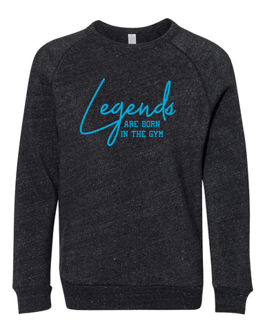 Legends Are Born In The Gym Tees Hoodies