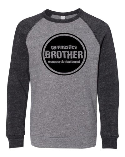 Gymnastics Brother Youth Sweatshirt