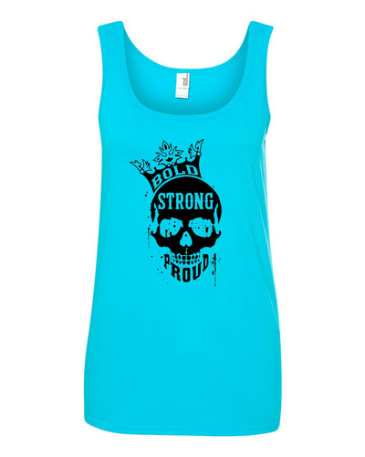 Bold Strong Proud Ladies Tank Top